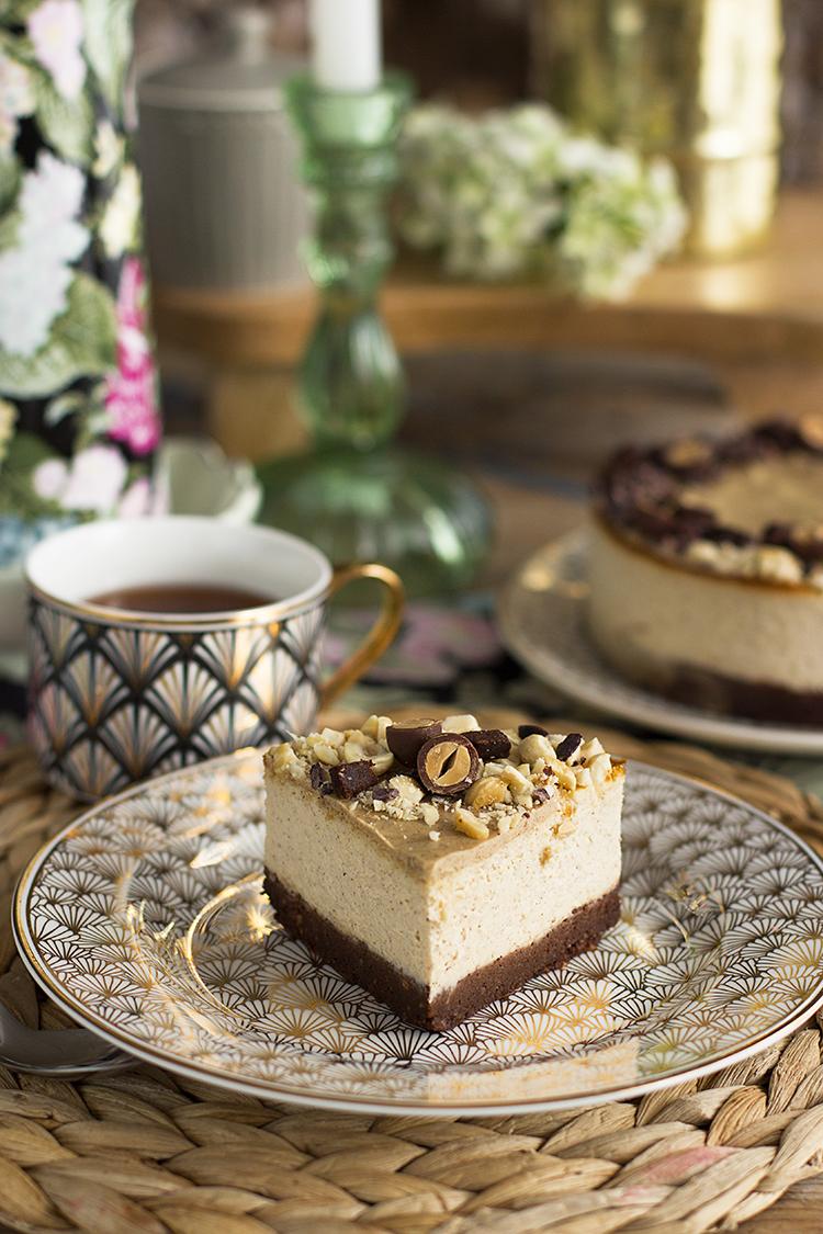 Cheesecake Kinder Bueno Saludable fácil sencillo y adictivo!