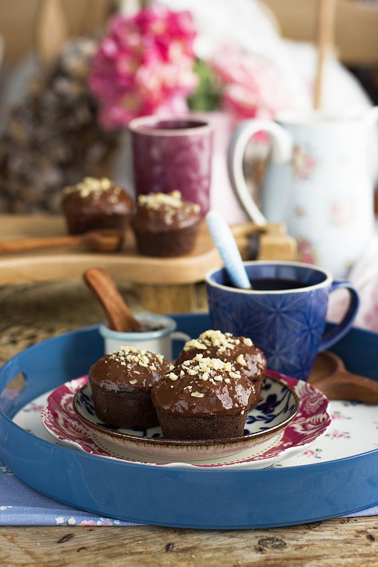 Muffins Ferrero Saludables, una combinación brutal de sabor y saludable
