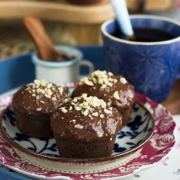 Muffins Ferrero Saludables