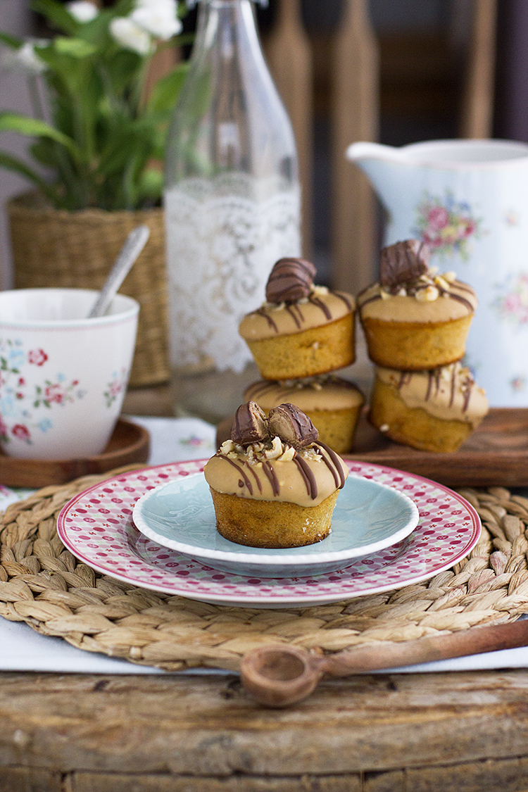 Muffins Kinder Bueno la obsesión de Kinder super tierna